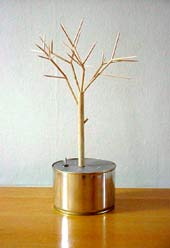 Kinetic Tree model, study for One Minute to Love.